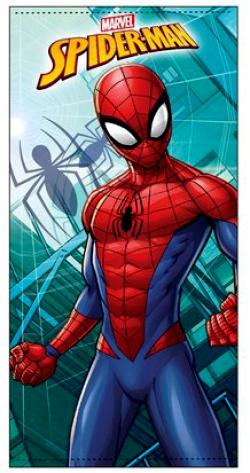 Osuška Spiderman - modrá ER4276