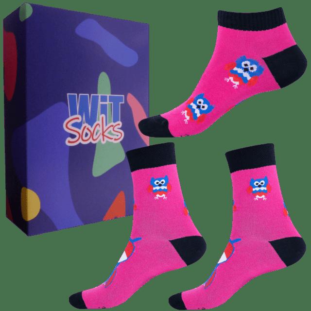 Dárkový set - Ponožky Sovy