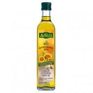 AMLILI Slunečnicový olej s česnekem BIO 250ml