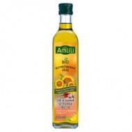 AMLILI Slunečnicový olej s čili a česnekem BIO 250ml