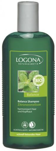 LOGONA Šampon na vlasy Meduňka 250ml
