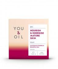 YOU & OIL Mýdlo Energie pro zralou pokožku