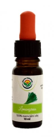 Lemongrass 100% esenciální olej 10 ml