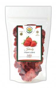 Jahody plátky sušené mrazem - lyofilizované 120 g