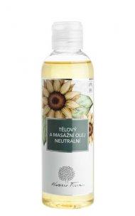 Telový a masážny olej Neutrálny 200 ml