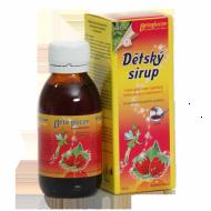 Dětský sirup s příchutí lesní jahody a vitam. C 130 g