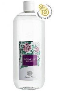 Květová voda BIO Růže 1000 ml plast