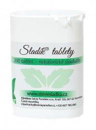 Sladík sladidlo - stévie sladká tablety 200 Ks
