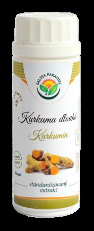Kurkuma - kurkumin standardizovaný extrakt kapsle 60 ks