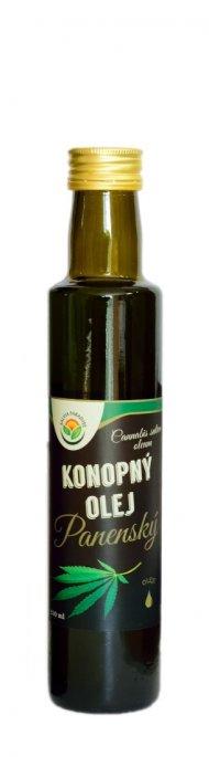 Konopný olej panenský 250 ml