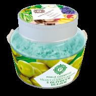 Perlé Cosmetic Cukrový peeling s olivovým olejem 200 g