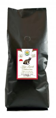 Káva - Kopi Luwak - cibetková káva 1000 g