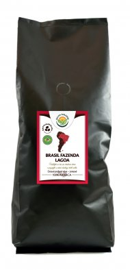 Káva - Brasil Fazenda Lagoa 1000 g