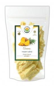 Ananas kousky sušené mrazem - lyofilizované 100 g