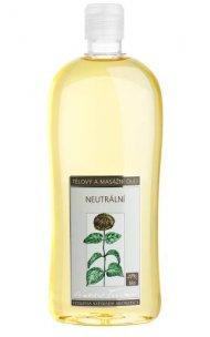 Tělový a masážní olej Neutrální 500 ml