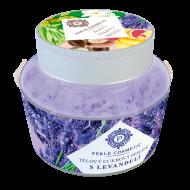 Perlé Cosmetic Cukrový peeling s levandulí 200 g