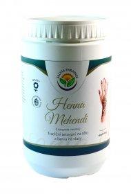 Henna Mehendi tradiční tetování na tělo a barva na vlasy 400 g