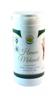 Henna Mehendi tradiční tetování na tělo a barva na vlasy 150 g