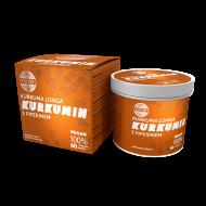 Kurkumin s piperinem bylinný extrakt - kapsle 60 ks