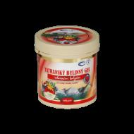 Tatranský bylinný gel - hřejivý 250 ml