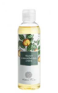 Telový a masážny olej Lymfa 200 ml