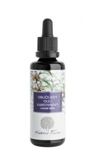 Tvárový regeneračný olej karoténový s aloe vera 50 ml