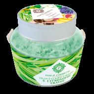 Perlé Cosmetic Cukrový peeling s citronovou trávou 200 g