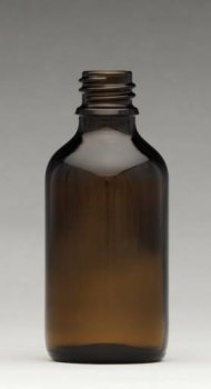 Fľaša hnedé sklo 50 ml