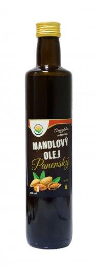 Mandlový olej 100% - lisovaný za studena 500 ml