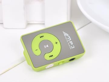 Mini MP3 přehrávač - zelený