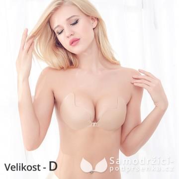 Samodržící podprsenka tělová - velikost D