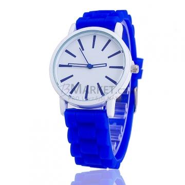 Silikonové hodinky tmavě modré