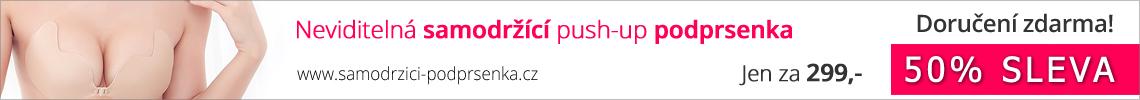 Samodržící podprsenka s výrazným push-up efektem!