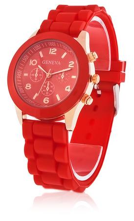 Silikonové hodinky Geneva
