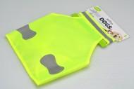 Reflexní vesta pro středně velké psy - Žlutá (55,5x29cm)
