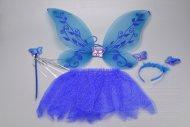Gyermek jelmez mágikus tündéri (3+) (47x39cm) - Kék