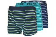 Pánské boxerky s pruhy PESAIL T122 - 1 ks, mix barev, velikost M