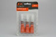 Vteřinové lepidlo FX 3g - Set 3ks (8cm)