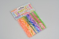 Plastové napichovátka na jednohubky 20ks - Mix barev (11cm)