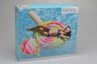 Nafukovací lehátko INTEX - Lízátko (208x135cm)