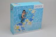 Nafukovací lehátko INTEX - S květinami (178x84)