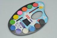 Akvarell ecsettel EASY - 12 szín
