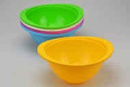 Plastová miska na potraviny HEIDRUN - Žlutá (9x17cm)
