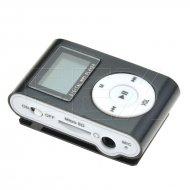 Kapesní MP3 přehrávač s displayem - Černý