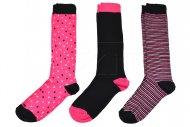 FS Női zokni - 3 pár, vegyes színek, mérete 35-38