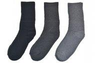 Pracovní ponožky LOOKeN DAMEN ZTY-WK203 - 3 ks, mix barev, velikost 35-38
