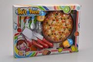 Dětská sada do kuchyňky GAZELO - Pizza (18cm)