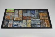 Bytová rohožka PERFECT HOME 40x60cm - Břidlicová mozaika