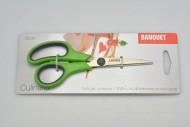 Protiskluzové nůžky pro domácnost BANQUET - Zelené (15cm)