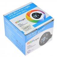 LED mini Par disko světlo - 9LED